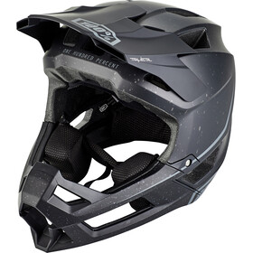 100% Trajecta Casco, black
